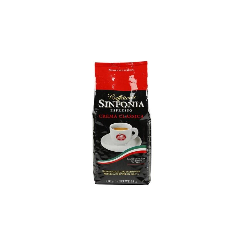 Saquella Espresso Sinfonia Crema Classica Espressobohnen 1kg