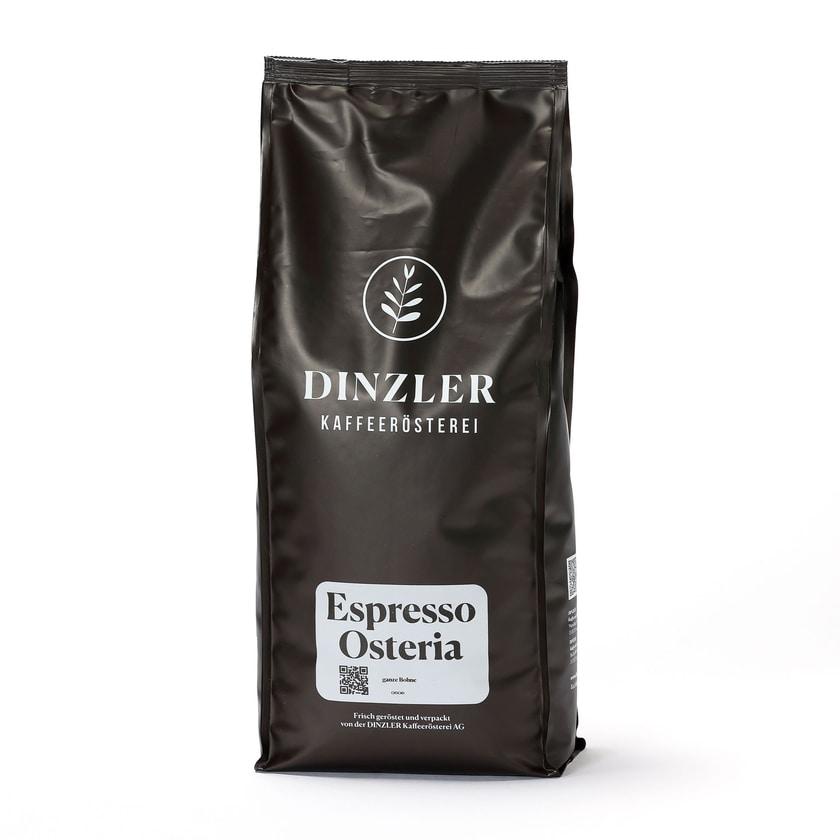 Dinzler Kaffeerösterei Espresso Osteria Ganze Bohne 1kg