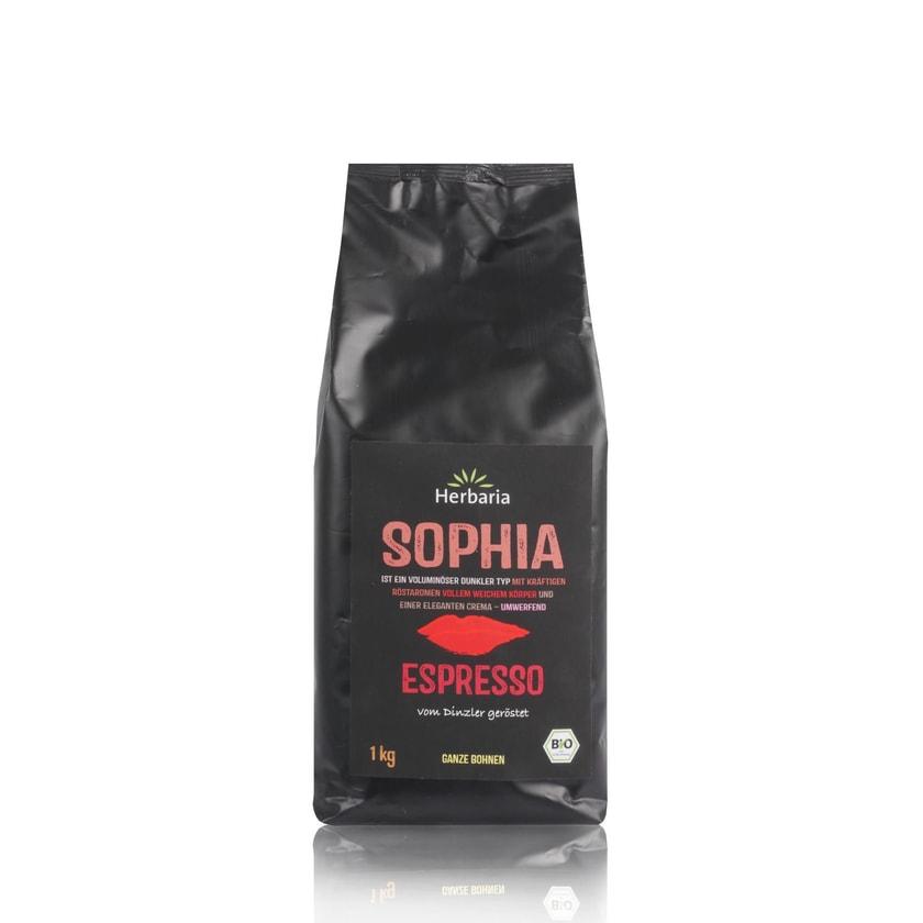 Herbaria Bio Espresso Sophia Ganze Bohne 1kg