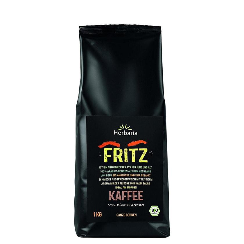 Herbaria Bio Kaffee Fritz Ganze Bohne 1kg