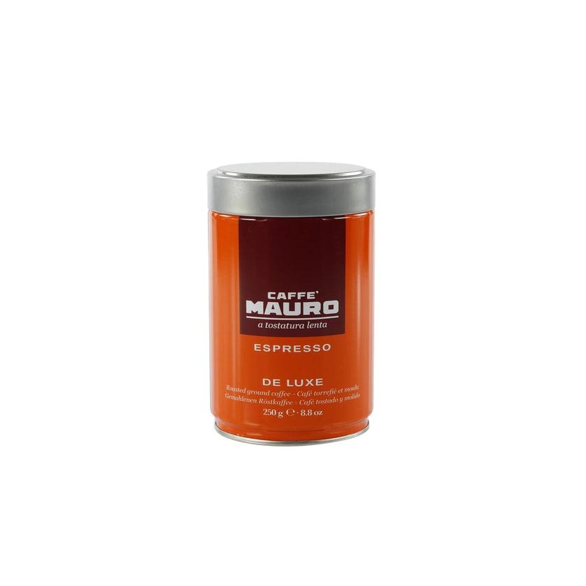 Caffe Mauro De Luxe Gemahlener Espresso Dose 250g