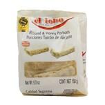 El Lobo Porciones Turron del Alicante harte Mandelnougattäfelchen mit Honig einzeln verpackt 150g