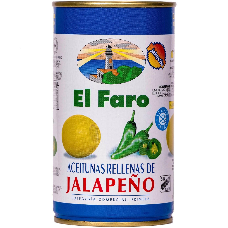 El Faro Oliven gefüllt mit Jalapeno 150g
