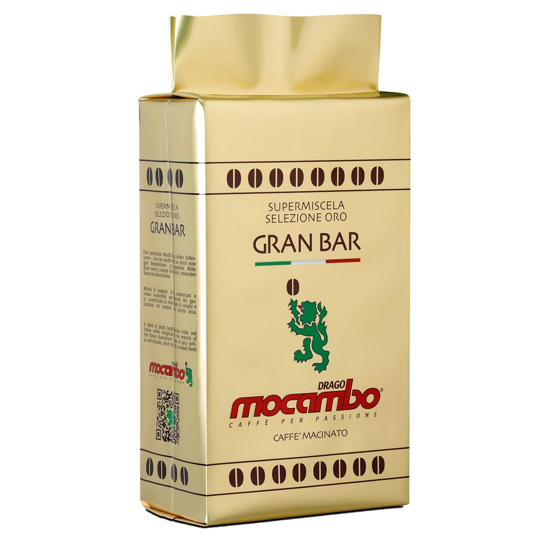Mocambo Gran Bar Gold Selezione Oro Kaffee gemahlen 250g
