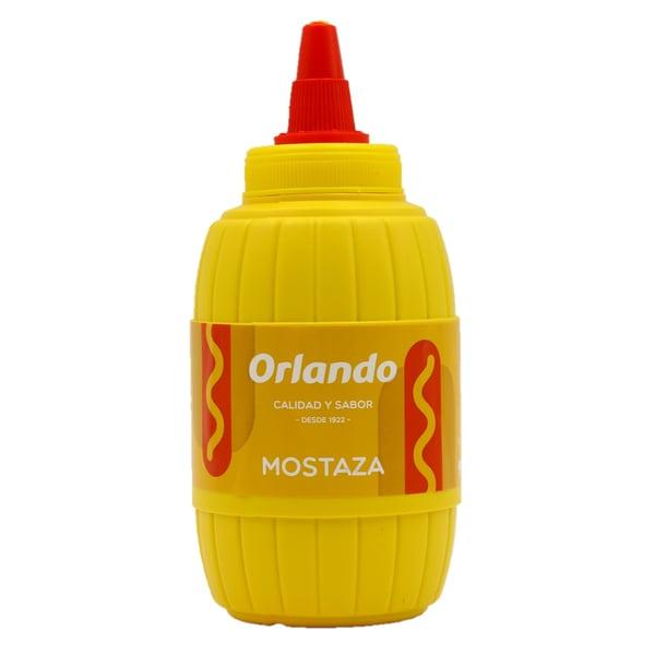 Orlando Mostaza Barrilito Senf 290g