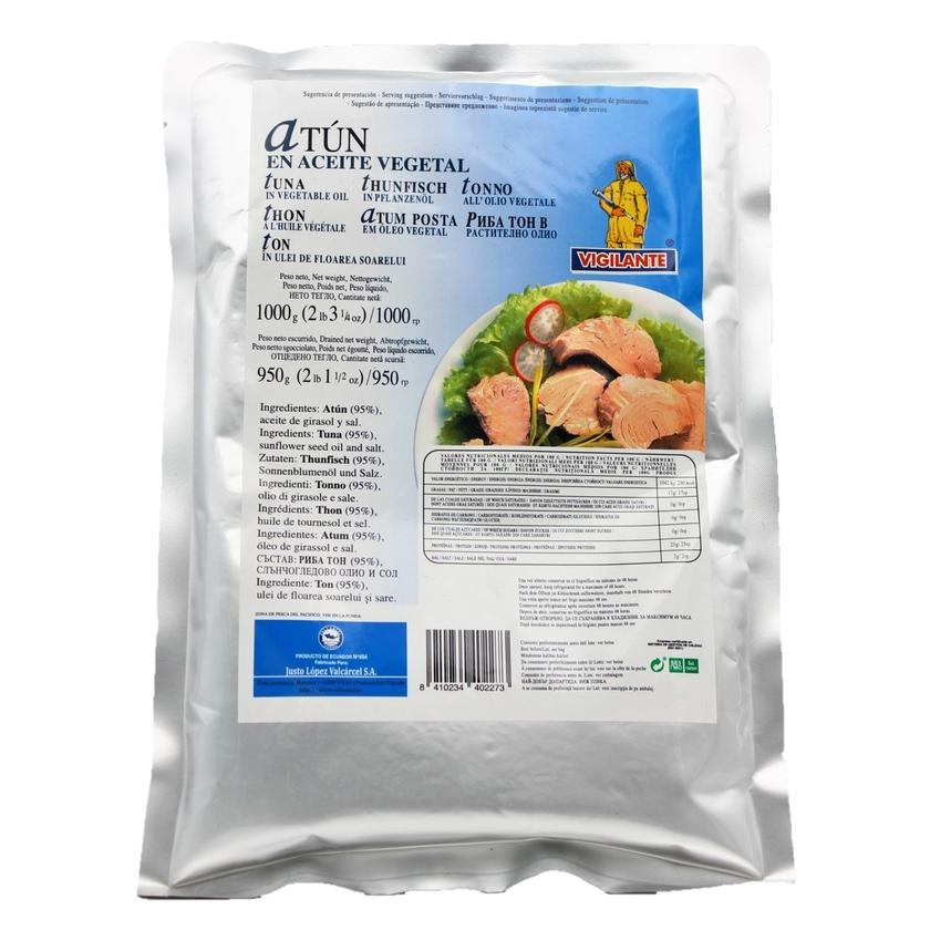 Vigilante Atun en Aceite vegetal Thunfisch in Pflanzenöl 950g
