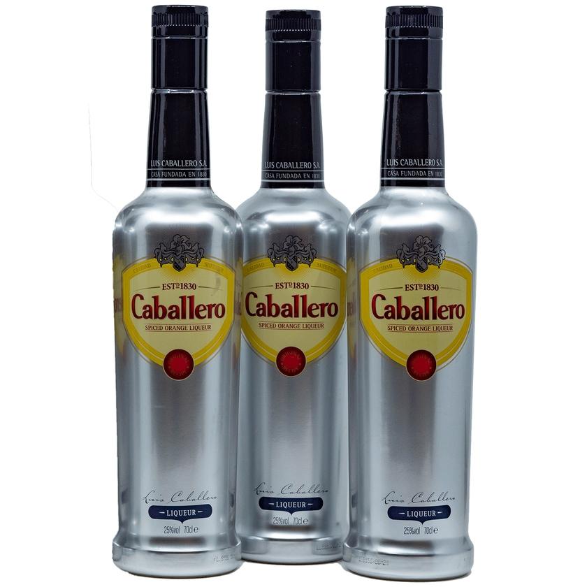 Caballero Spiced Orange Liqueur Orangenkräuterlikör 3x0,7l