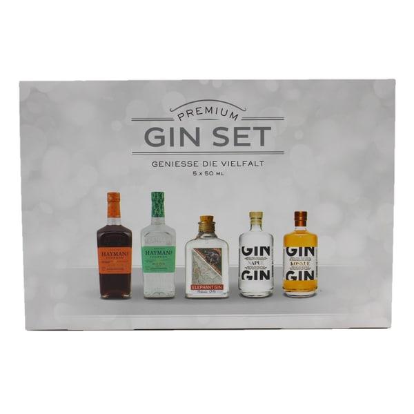 Sierra Madre Gin Premium Set Gin Auswahl 5x50ml