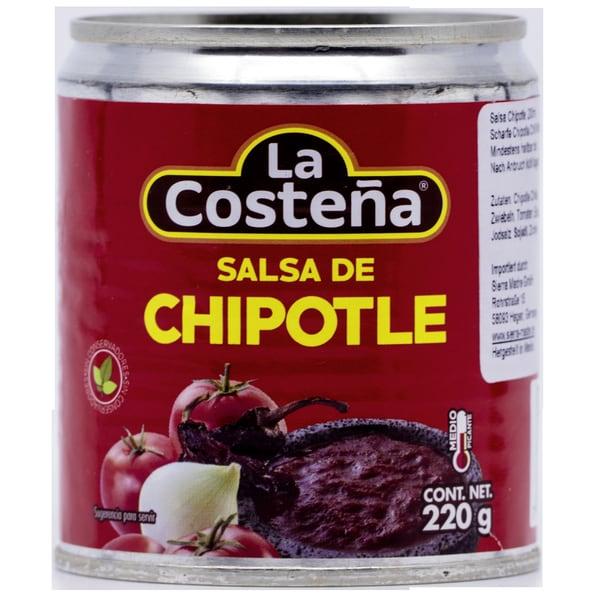 La Costeña Salsa de Chipotle scharfe Chipotle Chili Würzsauce 220g