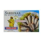 Vigilante Sardinillas en aceite de Oliva kleine Sardinen in Olivenöl 88g