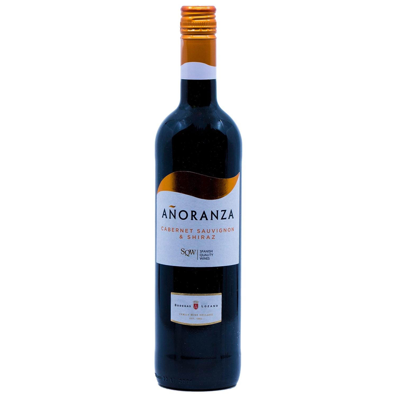 Anoranza Cabernet Sauvignon und Shiraz Rotwein 0,75l