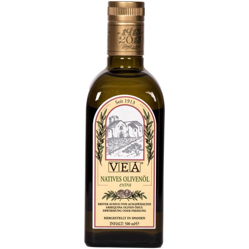 Vea Natives Olivenöl aus Arbequina Oliven 500ml