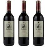 El Coto Crianza Rioja Rotwein 3x0,75l