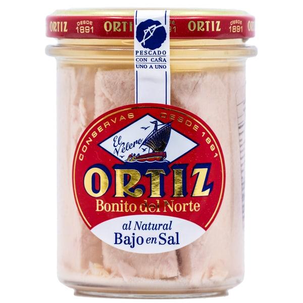 Ortiz Bonito del Norte al Natural Bajo en Sal 150g