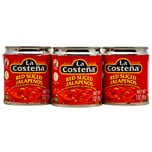 La Costeña Red Pickled Sliced Jalapenos rote Jalapenoscheiben 3x199g