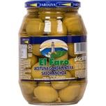 El Faro Grüne Oliven Gordal mit Sardellengeschmack 550g