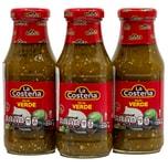 La Costeña Salsa Verde mittelscharfe grüne Soße 3x250g