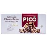 Pico Turron Chocolatecon con Alemandras Mandeltafel mit Schokolade 200g
