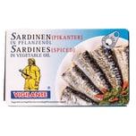 Vigilante Pikante Sardinen in Pflanzenöl 88g