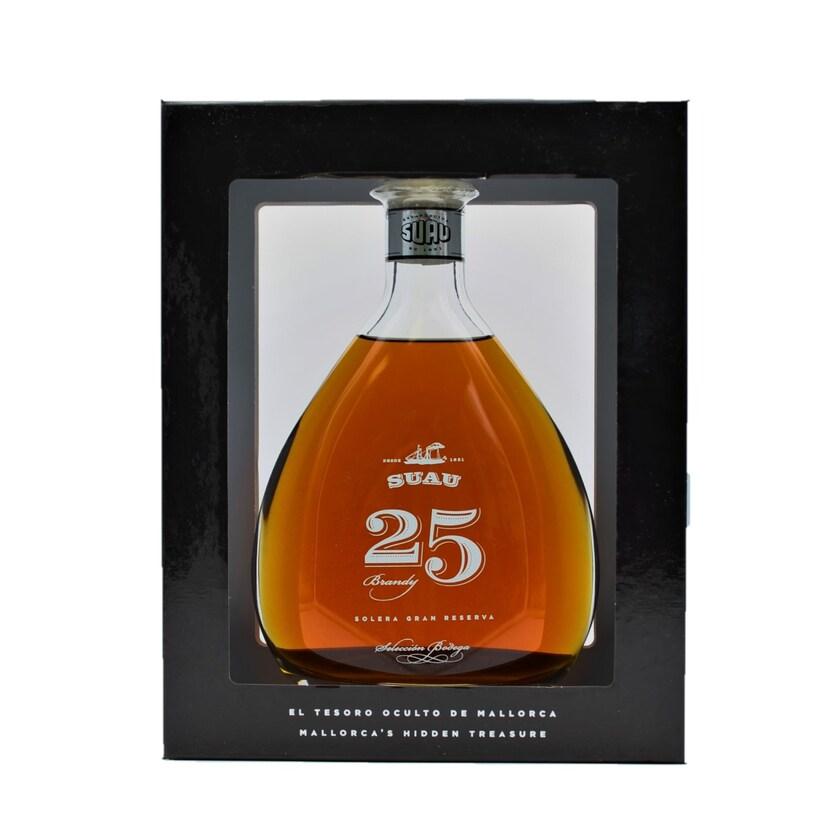 Suau Etiqueta Negra 25 anos Brandy 700ml