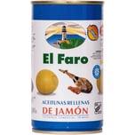 El Faro Oliven gefüllt mit Schinken 150g
