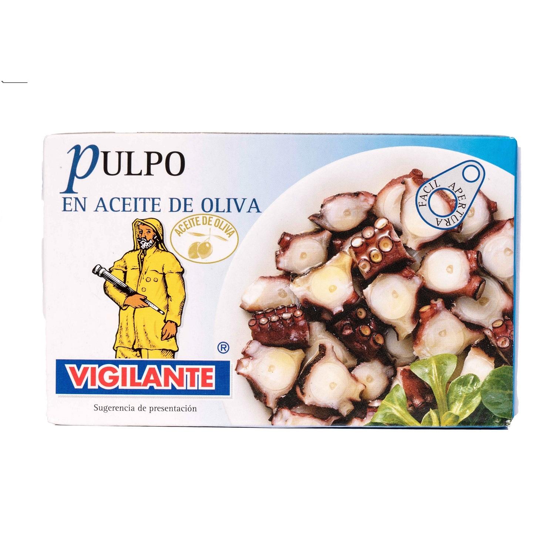 Vigilante Polypfisch in Olivenöl 72g