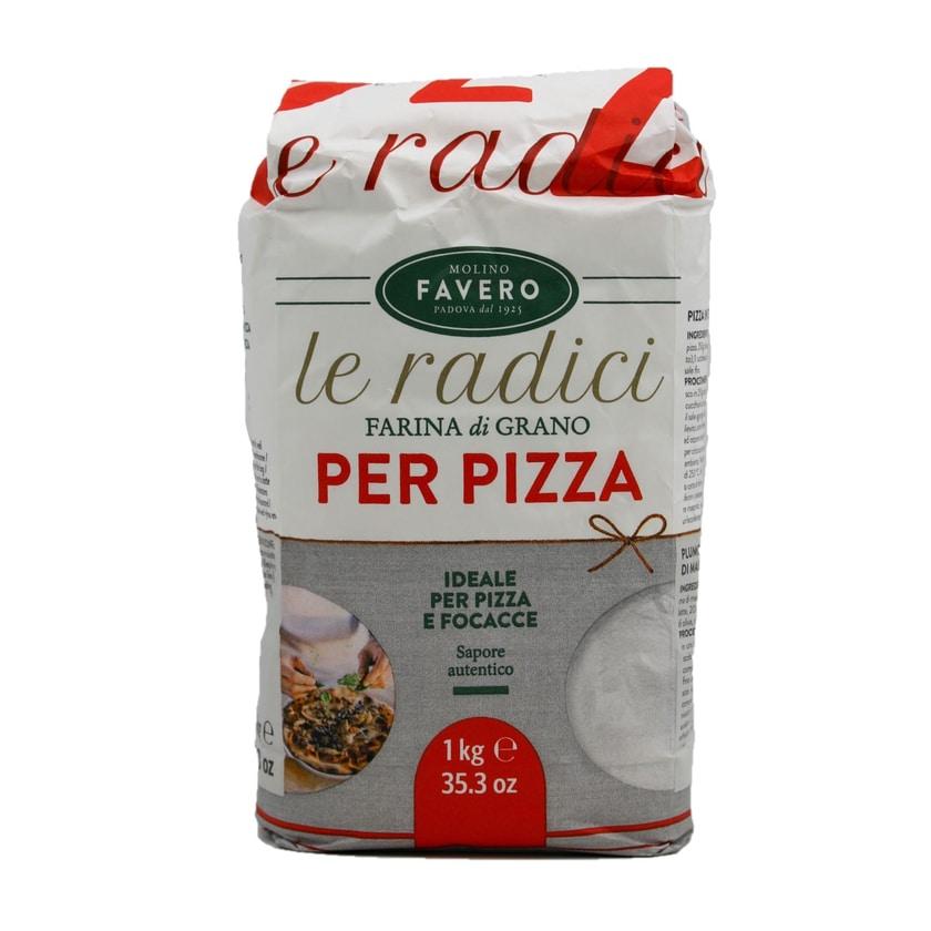 Favero Weichweizenmehl Type 00 für Pizza 1kg
