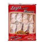Pastelería Jesús Lazos De Hojaldre Blancos Blätterteigschleifen 8 Stück 300g