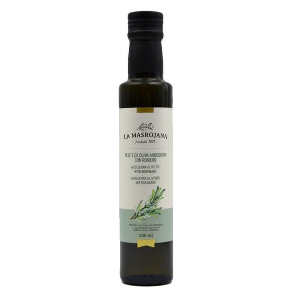 La Masrojana Arbequina-Olivenöl mit Rosmarin 250ml