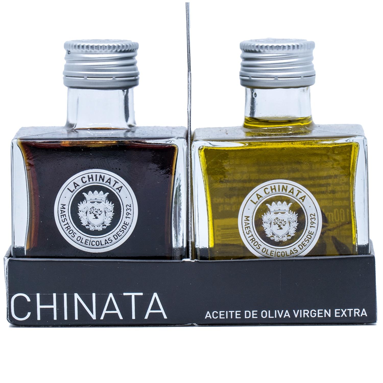 La Chinata Aceite de Oliva Virgen Extra Essig und Öl Set 2x100ml