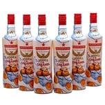Rushkinoff Vodka & Karamell 6 x 0,7l, 4,2l