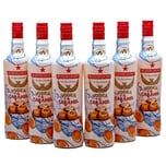 Rushkinoff Vodka & Karamell 6x0,7l