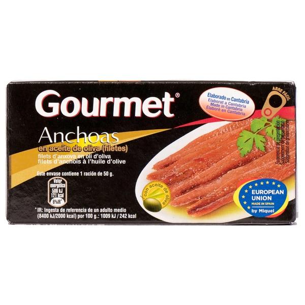 Gourmet Anchoas Sardellenfilets in Pflanzenöl 29g