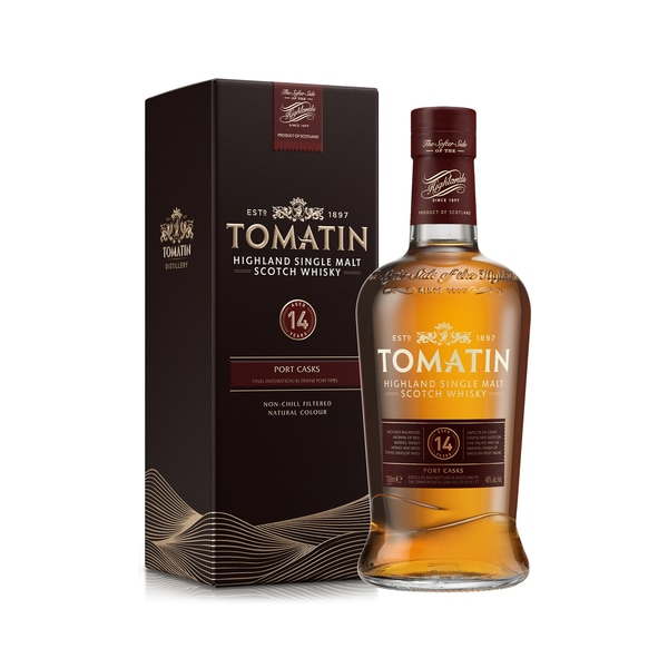 Tomatin Highland Single Malt Whiskey 14 Jahre 0,7l