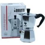 Bialetti Espressokocher Moka Express für 1 Tasse