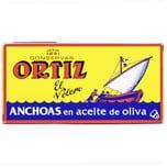 Ortiz Anchoas en aceite de oliva Sardellen in Olivenöl 29g