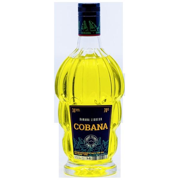 Cobana Banana Liqueur Likör 0,7l