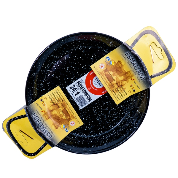 Vaello Campos Paellapfanne Stahl emailliert 24cm Durchmesser