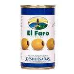 El Faro Grüne Oliven ohne Kern 150g