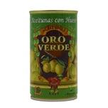 Oro Verde Aceitunas con Hueso Grüne Oliven mit Stein 350g