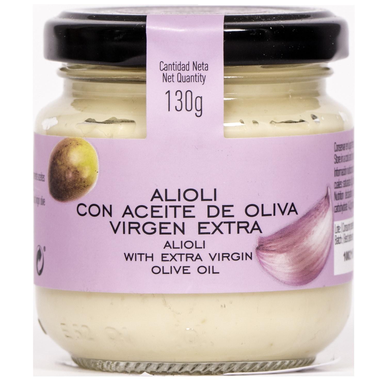 La Chinata Alioli con Aceite de Oliva Virgen Extra Alioli 130g