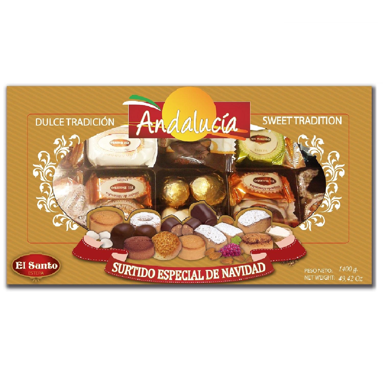 El Santo Andalucia Surtido Especial Andalucia Gebäckmischung 1,4kg