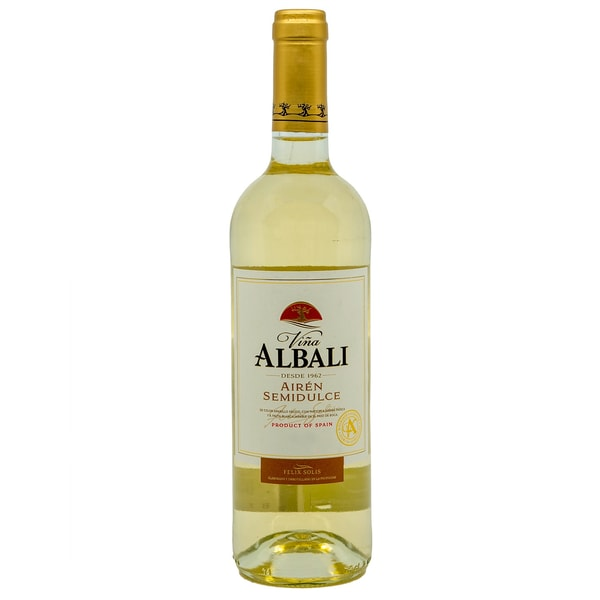 Vina Albali Airén Semidulce Weißwein 750ml