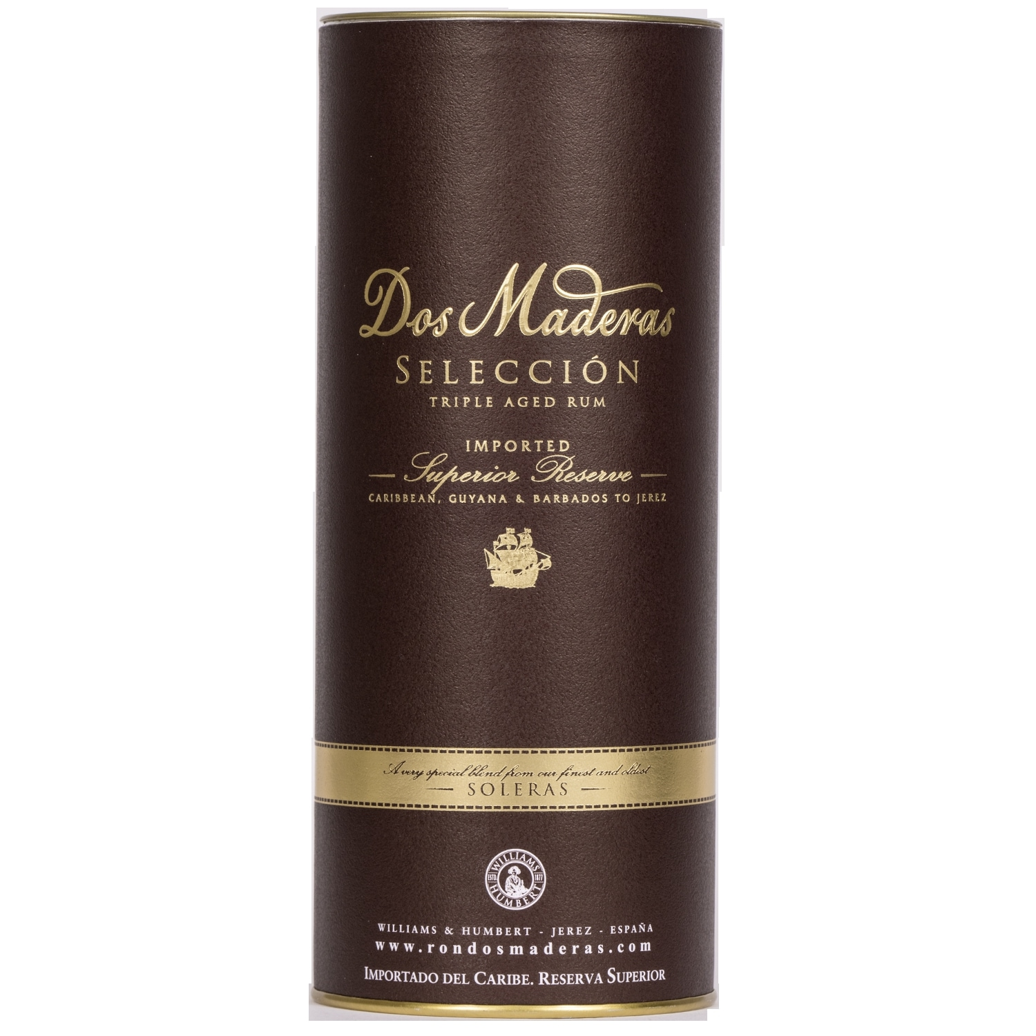 Dos Maderas Seleccion triple aged Rum 70cl