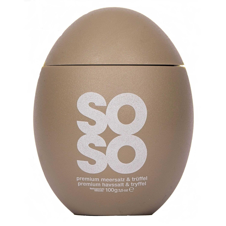 Soso Egg Meersalz mit Trüffel 100g