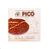 Pico Torta de Chocolate Turrón mit Schokolade rund 200g