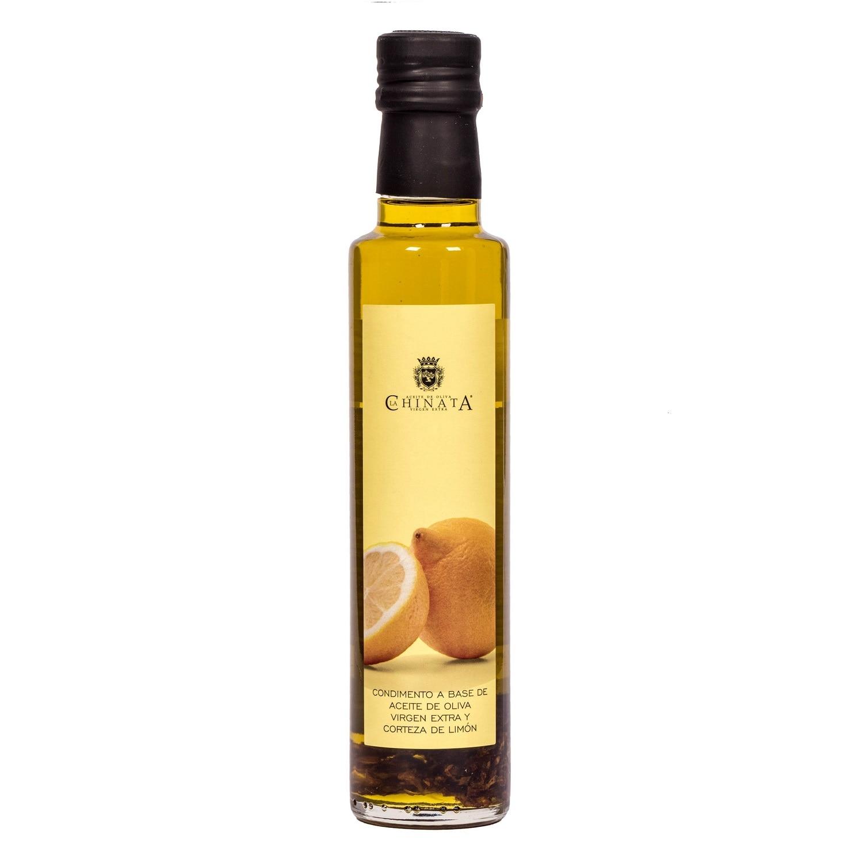 La Chinata Olivenöl Virgen Extra Limón Olivenöl mit Zitronenschalen 250ml
