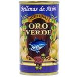 Oro Verde Grüne Oliven mit Thunfischpaste 150g