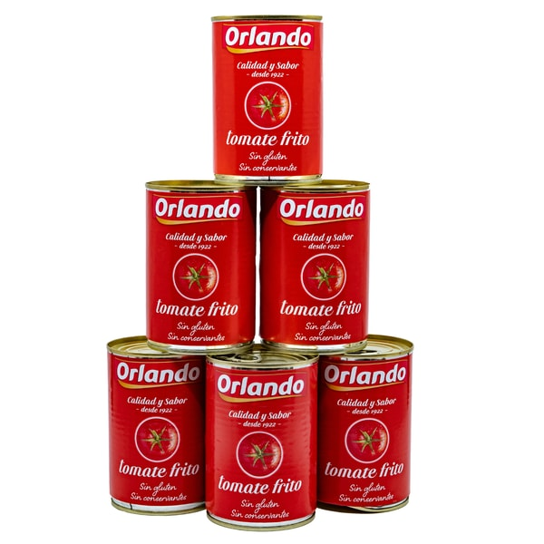 Orlando Tomate Frito Tomatensauce 6 x 400g, 2,4kg