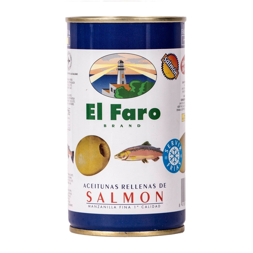 El Faro Oliven gefüllt mit Lachs 150g